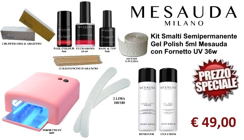kit semi mesauda 5ml