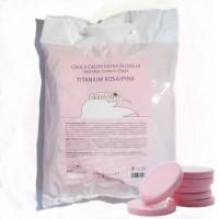 Cera A Caldo in Dischi 1kg Titanium Rosa  Skinsystem