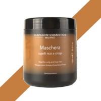 Maschera Capelli Ricci e Crespi - 1000 ml - DCM Diapason Cosmetics