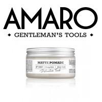 Matte Pomade - Cera Opaca Tenuta Forte - 100 ml - AMARO
