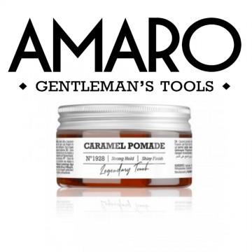 Caramel Pomade - Cera al Caramello a Tenuta Forte - 100 ml - AMARO