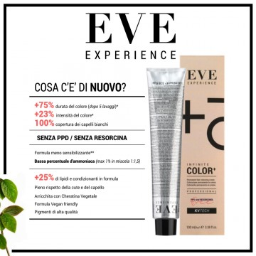 Infinite Color+ - Colorazione Permanente in Crema - 100 ml - EVE Experience