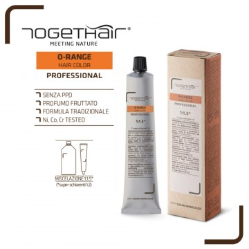 O-Range Hair Color - Colorazione Permanente in Crema - 100 ml - Togethair