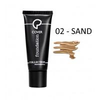 Fondotinta Ultra Coprente Cover Foundation - 02 Sand - Collection Professional