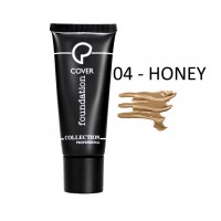 Fondotinta Ultra Coprente Cover Foundation - 04 Honey - Collection Professional