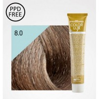 Color Lux - Crema Colorante - 8.0 Biondo Chiaro - 100 ml - Design Look
