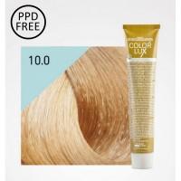 Color Lux - Crema Colorante - 10.0 Biondo Platino - 100 ml - Design Look