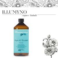 Shampoo Rigenerante Illumyno Argan & Tsubaki - 1000 ml - Design Look