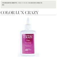 Color Lux Crazy - Pink - Colorazione Diretta - 150 ml - Design Look