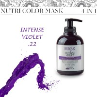 Color Mask Intense Violet - Maschera Colorante Viola Intenso - 300 ml - Design Look