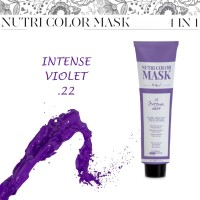 Nutri Color Mask 4 in 1 - Intense Violet .22 - 120 ml - Design Look
