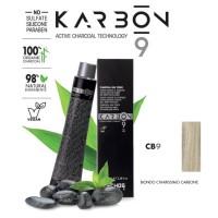 Crema Colorante Capelli Con Carbone - CB9 - Biondo Chiarissimo Carbone - 100 ml - EchosLine