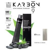 Crema Colorante Capelli Con Carbone - CTPearl - Toner Perla - 100 ml - EchosLine