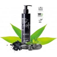 Charcoal Color Mask Black - Maschera Colorante Nera - 240 ml - EchosLine