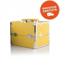 Beauty Case Make Up - Labor Pro srl - Colore Giallo