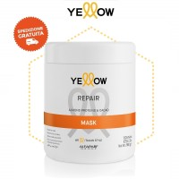 Maschera Repair Care - Mandorla & Cacao - 1000 ml - Yellow AlfaParf