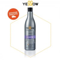 Shampoo Silver Antigiallo - Acai & Rose of Jericho - 500 ml - Yellow AlfaParf