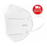 20 pezzi Mascherine Respiratorie KN95 (FFP2) Senza Valvola con Certificazione Inail