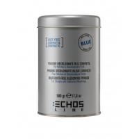 Polvere Decolorante Blu Compatta per Mèches e Decolorazioni Forti - 500 Gr - Echosline