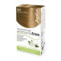 Perfect Ammonia Free - 8.0 Biondo Chiaro - Crema Colorante per Capelli - HC