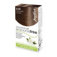 Perfect Ammonia Free - 6.05 Cioccolato Al Latte - Crema Colorante per Capelli - HC