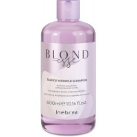 Blonde Miracle Shampoo - Shampoo Antipollution Perfezionatore del Biondo - 300 ml - NEW Inebrya Blondesse