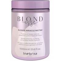 Blonde Miracle Nectar - Trattamento Booster Nutriente Antipollution Perfezionatore del Biondo - 1000 ml - NEW Inebrya Blondesse