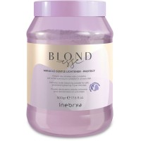 Miracle Gentle Lightener Protect - Polvere Decolorante Viola Compatta - 500 gr - NEW Inebrya Blondesse