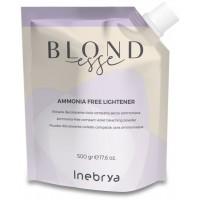 Ammonia Free Lightener - Polvere Decolorante Viola Compatta - 500 gr - NEW Inebrya Blondesse