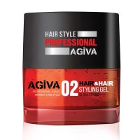 Hair Styling Gel 02 Ultra Strong - Gel Ultra Forte - 200 ml - Agiva