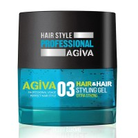 Hair Styling Gel 03 Extra Strong - Gel Effetto Extra Forte - 200 ml - Agiva