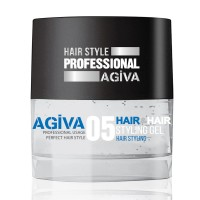 Hair Styling Gel 05 Transparent - Gel Effetto Strong - 200 ml - Agiva