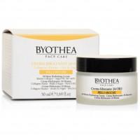 Crema Idratante 24 Ore - Pelli Secche - 50 ml - Byothea Face Care