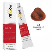 Yellow Color Permanent - Argan Oil & AloeTrix - 1 Nero - 100 ml - Alfaparf