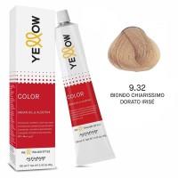 Yellow Color Permanent - Argan Oil & AloeTrix - 9.32 Biondo Chiarissimo Dorato Irisé - 100 ml - Alfaparf