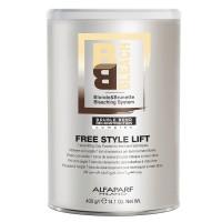 BB Bleach Free Style Lift - Polvere Decolorante Compatta Bianca - 400 gr - AlfaParf Milano