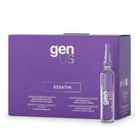 Keratin Lozione Ristrutturante Senza Risciacquo - 12x10 ml - GenUs